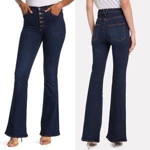 Veronica Beard Beverly High Rise Flare Jean